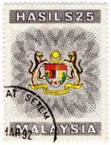 (I.B) Malaysia Revenue : General Duty $25 (1985)