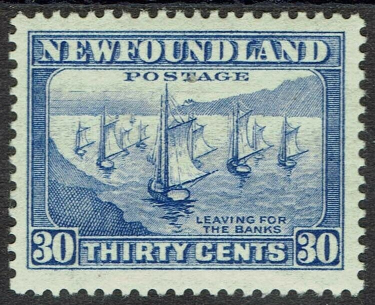 NEWFOUNDLAND 1932 FISHING FLEET 30C