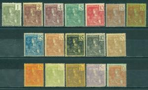 Indo-China #24-40  Mint F H  Scott $627.80   See Description