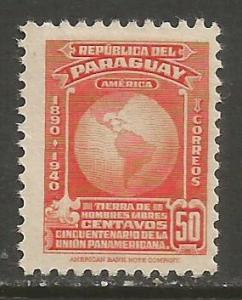 PARAGUAY 374 MOG R349-4