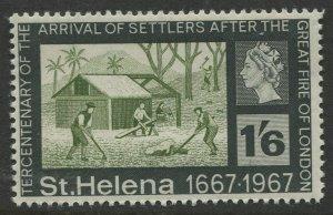 STAMP STATION PERTH St Helena #200 Tercentenary of Settlers 1967 MNH