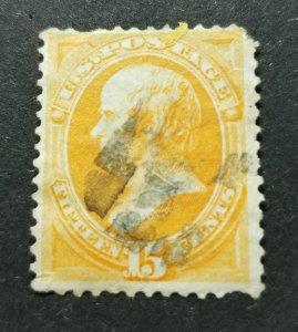 U.S. Scott # 163 Used(HP11)