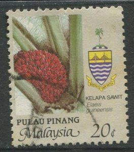 STAMP STATION PERTH Penang #93 Agriculture Type Definitive Used 1986