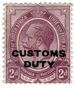 (I.B) South Africa Revenue : Customs Duty 2d