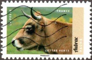 France 5192 - Used - (73c) Cow (2017) (cv $1.10)