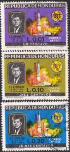 Honduras #C446-C448 Used Set