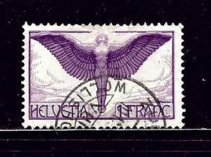 Switzerland C12 Used 1924 issue