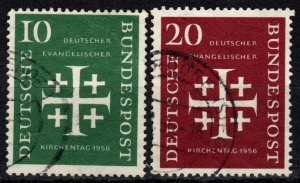 Germany #744-5 F-VF Used  CV $7.50 (P469)