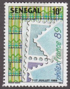 Senegal 817 PHILEXFRANCE 1989