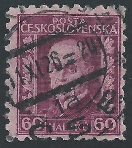 Czechoslovakia #129 60h Masaryk