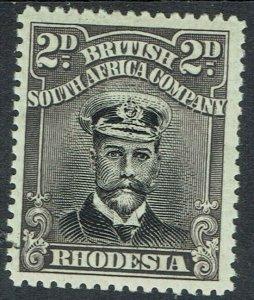 RHODESIA 1922 KGV ADMIRAL 2D DIE III PERF 15