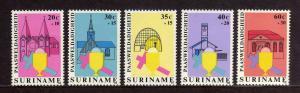 SURINAM/SURINAME 1968 MNH SC.B256/B260 Easter