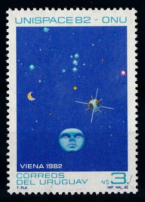 [66083] Uruguay 1982 Space Travel Weltraum Unispace  MNH