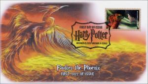 SC 4829, 2013 Fawkes the Phoenix, FDC, Pictorial Cancel,  Item 13-018B, SeriesII