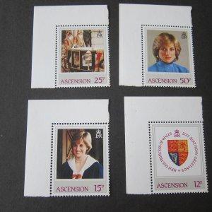 Ascension Islands 1982 Sc 313-6 set MNH