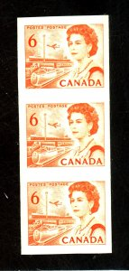 CANADA #468A MINT IMPERF STRIP IF 3 VF NH Cat $450
