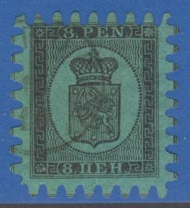 FINLAND 7 8 PEN 1866 No Faults Extra Fine