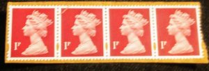 Great Britain 2960 unused XF 4 on paper