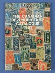 Canadian Revenue Stamp Catalogue.