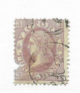 Australia Victoria #97 Filler - Used - Stamp CAT VALUE $57.50
