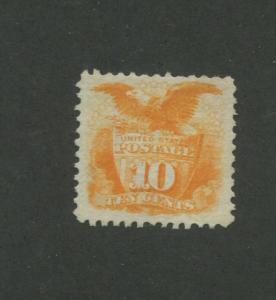 1869 United States Postage Stamp #116 Mint No Gum Very Fine
