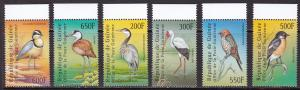 Guinea, Fauna, Birds MNH / 2001