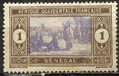 Senegal; 1914: Sc. # 79: *-/MH Single Stamp