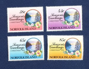 NORFOLK ISLAND - 510-513  - VF MNH - Christmas - 1991