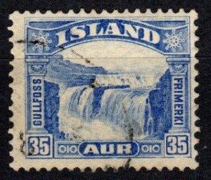 Iceland #172  F-VF Used CV $16.00  (X5731)