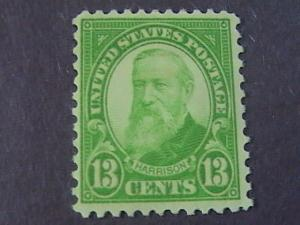 U.S.# 694-MINT/NEVER HINGED----LIGHT YELLOW/GREEN---HARRISON------1931(#A)