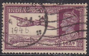 India 161a Hinged Used 1940 Mail Transport