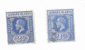 Leeward Islands #50 Used - Stamp - CAT VALUE $7.25ea PICK ONE