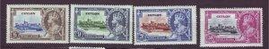 J23634 JLstamps 1935 ceylon set mh #360-3 king jibilee