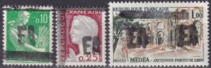 Algeria #286a-287a, 290a  MNH  CV $7.50  Z74