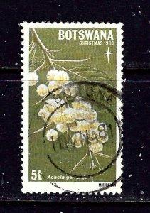 Botswana 258 Used 1980 Christmas