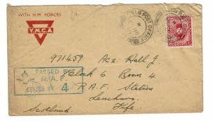 Egypt 1940 RAF Censor Cover to Scotland - Lot 100817
