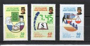 Brunei 535-537 MNH