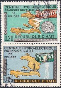 Haiti #637-638 Used Set