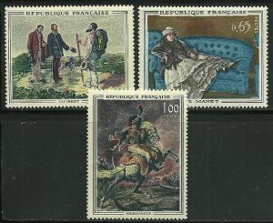 France # 1049-51, Mint Hinge. CV $ 9.00