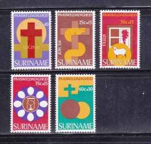 Surinam B246-B250 Set MNH Easter