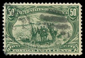 momen: US Stamps #291 Used XF+ PSE Cert