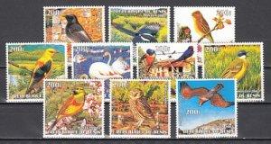 Benin, 2003 Cinderella issue. Birds & Owl issue. ^