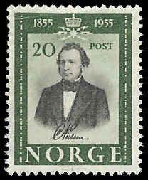 Norway - 334 - Unused - SCV-0.55