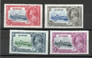 Saint Helena - SG# 124 - 127 MH (rem)   /  Lot 0619193