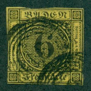 Baden #9  Used  F  Scott $24.00