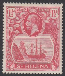 St. Helena 81 MH CV $3.75