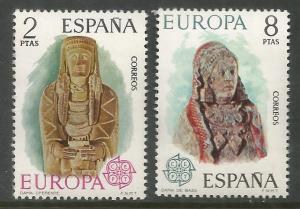 SPAIN  1804-1805  MNH,  COMMON DESIGN,  EUROPA '74