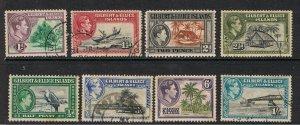 GILBERT & ELLICE ISLANDS 1939 KING GEORGE VI