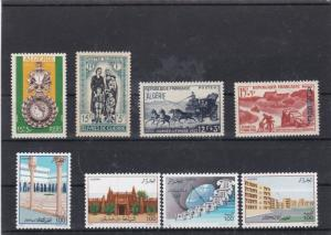 algeria mounted mint stamps ref 16812