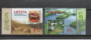 Lithuania 628-629 MNH